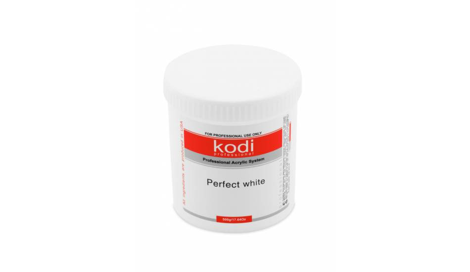 Kodi Professional Perfect White Powder (белый, базовый акрил), 500гр.
