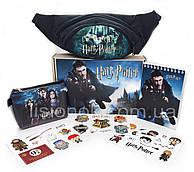 Бокс Гарри Поттер с бананкой (блокнот, кошелек, наклейки, бананка) – отличный подарок любителям книги Harry