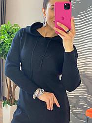 Женская  туника худи с капюшоном