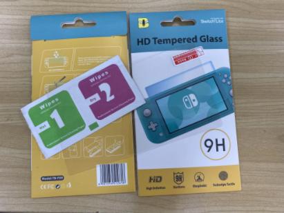 Закаленное стекло bumblebee для Nintendo Switch Lite / Есть чехлы