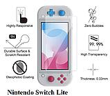 Закаленное стекло bumblebee для Nintendo Switch Lite / Есть чехлы, фото 5