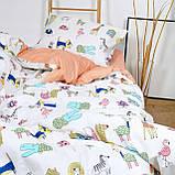 Постельное белье подростковое 471 сатин Viluta, фото 4
