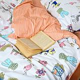 Постельное белье подростковое 471 сатин Viluta, фото 5