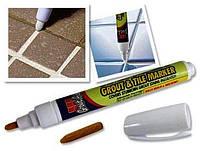 Карандаш-маркер Grout-Aide Grout & Tile Marker для обновления межплиточных швов, фото 1
