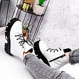 Ботинки женски Dilys белый с черным 2940, фото 3