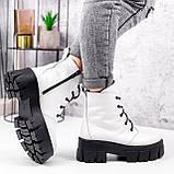 Ботинки женски Dilys белый с черным 2940, фото 5