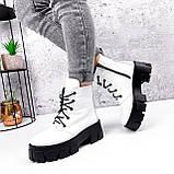 Ботинки женски Dilys белый с черным 2940, фото 8