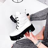 Ботинки женски Dilys белый с черным 2940, фото 7