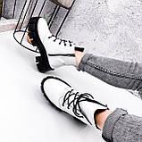 Ботинки женски Dilys белый с черным 2940, фото 10