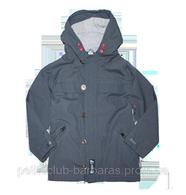 Куртка-ветровка детская темно-синяя (QuadriFoglio, Польша)