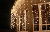Светодиодные LED гирлянды, новогодние гирлянды, уличные гирлянды