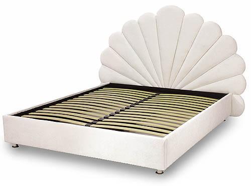 Кровать - подиум с изголовьем №6