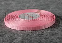 Лента репсовая бледно-розовая 0,6 см 25 ярд арт.04