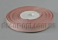 Лента репсовая оттенок кофейного 0,9 см 25 ярд арт.201
