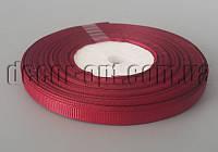 Лента репсовая оттенок бордового 0,6 см 25 ярд арт.048