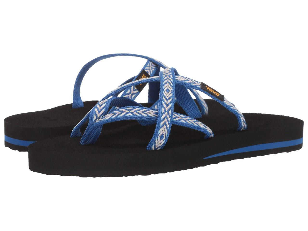 Сандали/Вьетнамки (Оригинал) Teva Olowahu Himalaya Lapis Blue