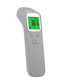 Инфракрасный беспокнтатный термометр SUNPHOR для тела и предметов быта Серый
