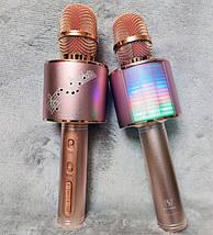 Мікрофон караоке YS-66 2 в 1 - бездротової Bluetooth мікрофон - портативна колонка зі слотом USB + TF card, фото 3