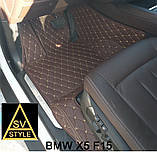 Оригинальные Коврики BMW X5 Е70 Кожаные 3D (2006-2013) Тюнинг БМВ Х5 Е70, фото 7