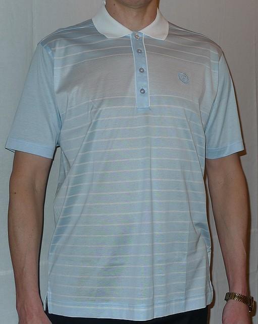 Голубая рубашка поло (Турция)