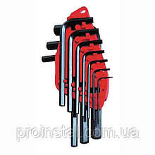Набор ключей 6-ти гранн Stanley. 10 ед. 1.5-10 мм (блистер)