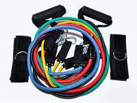 Набор эспандеров для фитнеса Zelart Power Bends 8001