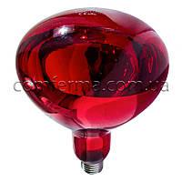 Лампа інфрачервона R125 175 Вт повністю черв. LO, фото 1