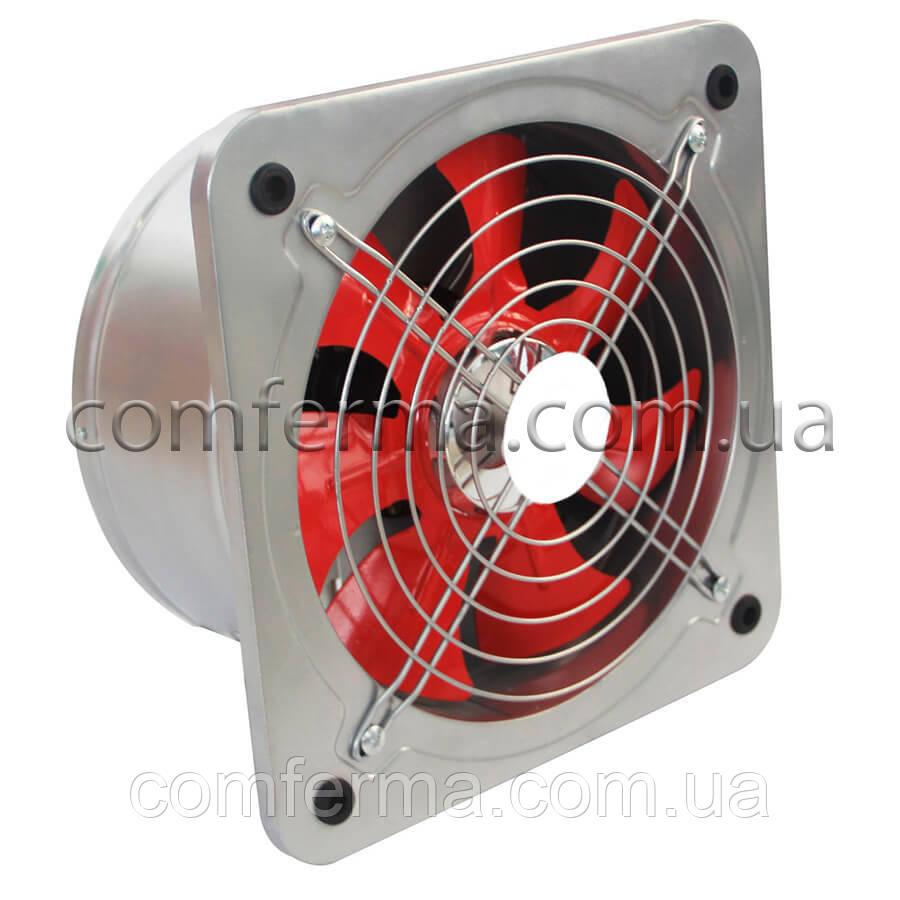 Настенный осевой вентилятор с обратным клапаном (Ø вход. отверстия 150 мм)