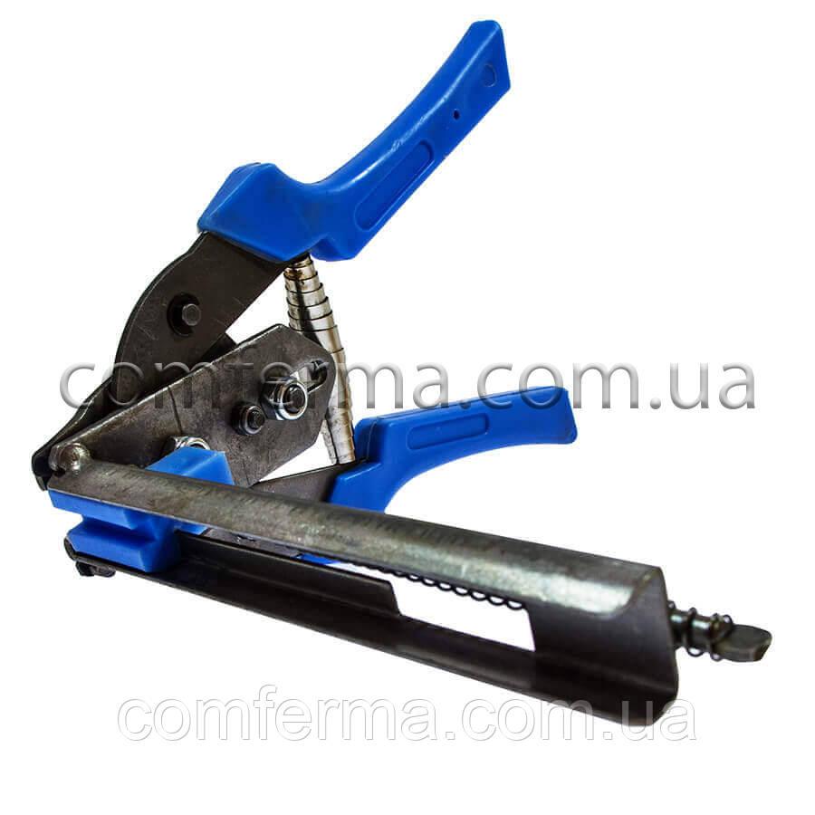 Инструмент скобообжимной для сборки клеток (Эконом) (плоскогубцы для обжима, клещи для обжима)