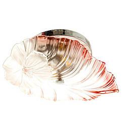 Люстра припотолочная коралового кольору SLAVIA SN002P