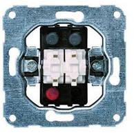 """Механизм выключателя 2-клавишного типа """"Контактор"""" для жалюзи 10А / 230В hager.polo"""