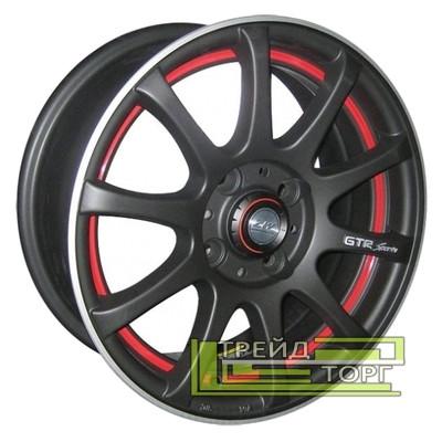 Литой диск Zorat Wheels 355 5.5x13 4x98 ET25 DIA58.6 Black