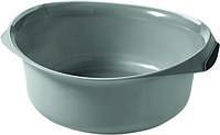 Миска  круглая пластиковая ДЕКО 9л 355Х385Х145 мм серая Curver CR-0138-1