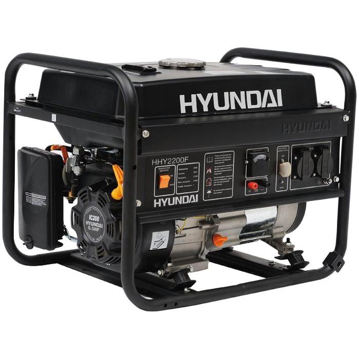 бензиновый генератор 2квт hyundai hhy 2200f