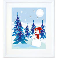 В-179 Снеговик. Чарівна Мить. Набор для создания картины из фетра