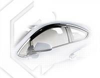 Дефлекторы окон Opel Astra J GTC 3d 2011 |  Ветровики Опель Астра