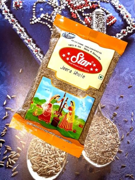Кумин семена, Зира Jeera Whole 100 грамм