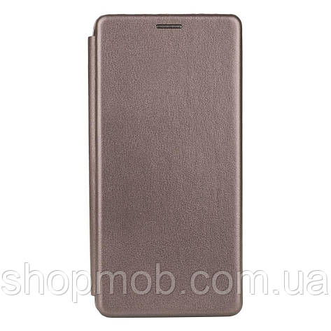 Чехол-книжка кожа Xiaomi MI 10T Цвет Серый, фото 2