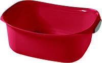 Миска  прямоугольная пластиковая ДЕКО 8л 290Х380Х145 мм красная Curver CR-0139-2