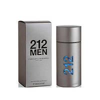 Carolina Herrera 212 туалетная вода мужская 100 ml Оригинал