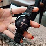 Женские наручные часы Starry Sky Watch на магнитной застёжке Черный, фото 3