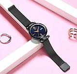 Женские наручные часы Starry Sky Watch на магнитной застёжке Черный, фото 4