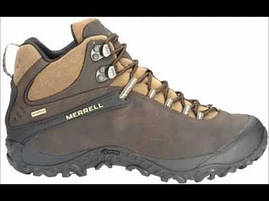 Мужские ботинки Merrell Chameleon 4 Mid Waterproof (коричневые), фото 2