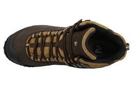 Мужские ботинки Merrell Chameleon 4 Mid Waterproof (коричневые), фото 3