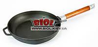 """Чугунная сковорода ø 24 см со съемной ручкой """"Оптима"""" БИОЛ 0124. Чугунная посуда"""