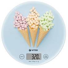 Весы кухонные Vitek VT-8014 Голубые