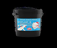 Битумная мастика на основе органического растворителя Izoplast B 20 кг.