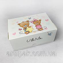 Коробка-контейнер 180*120*80 Ведмедики