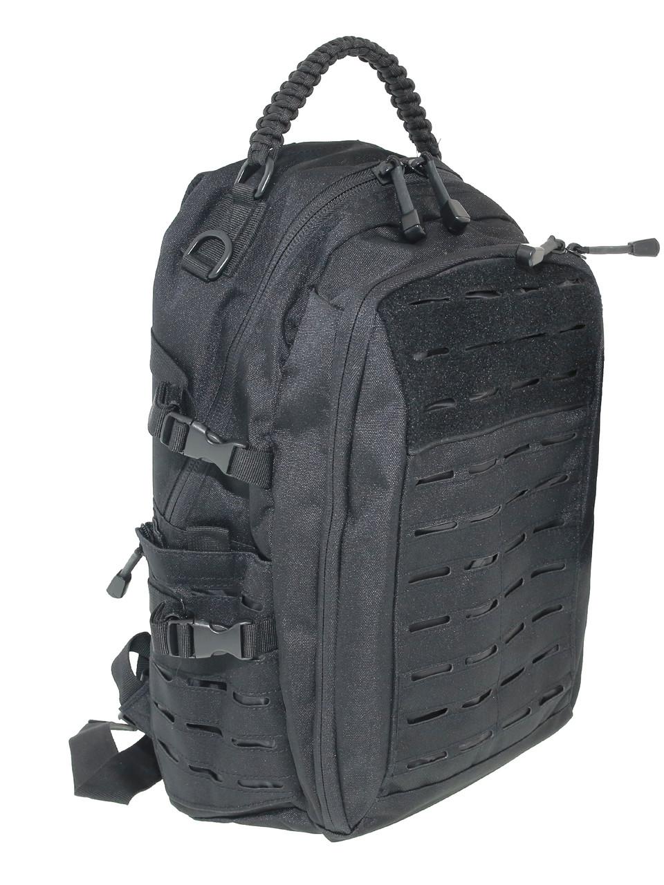 Рюкзак тактический 20 литров черный MIL-TEC Mission Pack Laser Cut, Black 14046002