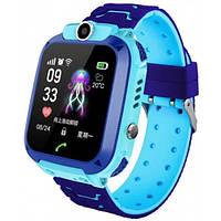 Умные детские смарт часы для мальчика Q12 умные часы телефон детские камера GPS магнитное зарядное влагозащита